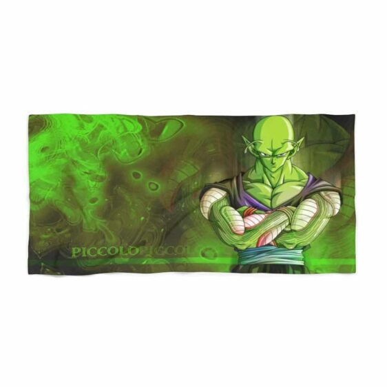 Dragon Ball Z Piccolo Namek Warrior Green Cool Beach Towel