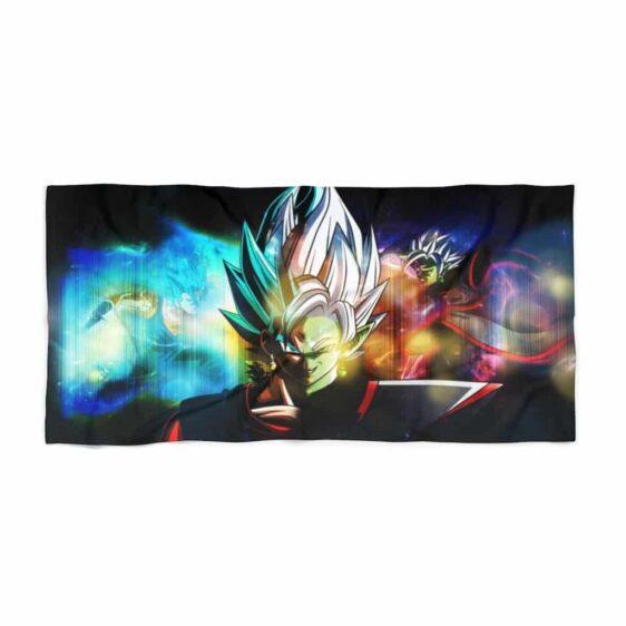 Dragon Ball Vegito Blue vs Fused Zamasu Awesome Beach Towel