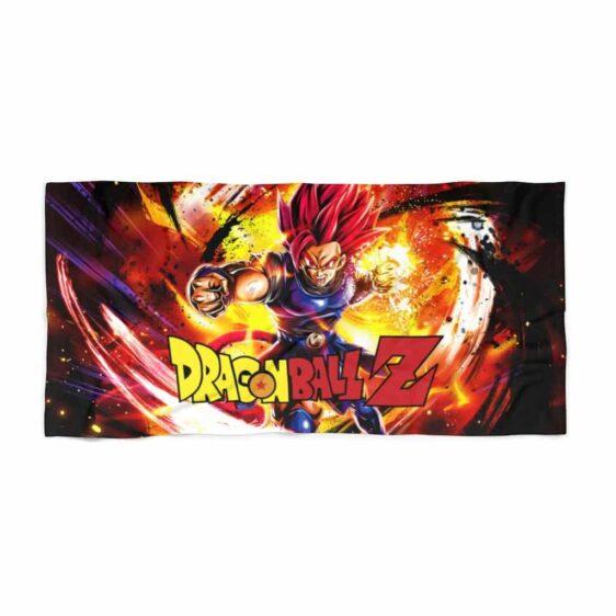 Dragon Ball Legends Shallot Super Saiyan God Beach Towel