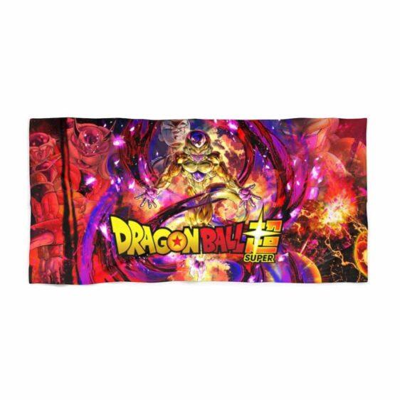 Dragon Ball Super Frieza Transformations Art Beach Towel