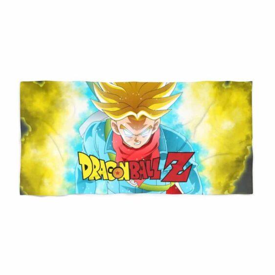 DBZ Enraged Super Saiyan Future Trunks Epic Beach Towel