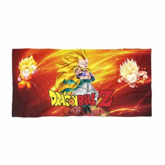 DBZ Trunks Goten Gotenks Fusion Awesome Beach Towel