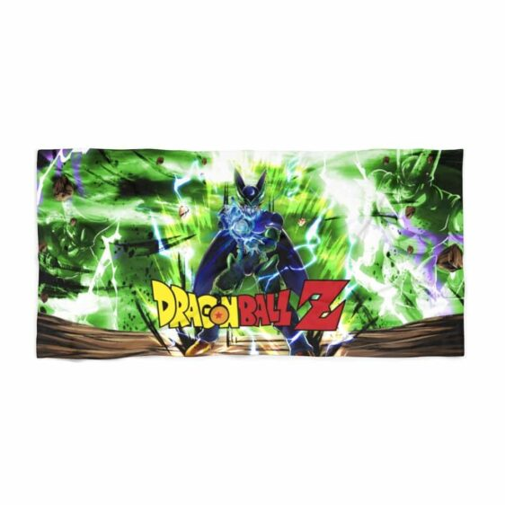 Dragon Ball Z Perfect Cell Kamehameha Awesome Beach Towel