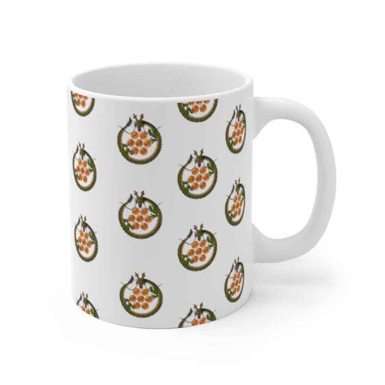Dragon Ball Z Shenron The Dragon Pattern White Coffee Mug