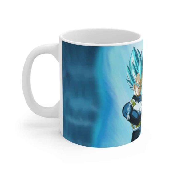 Dragon Ball Super Vegeta Super Saiyan Blue Cool Ceramic Mug