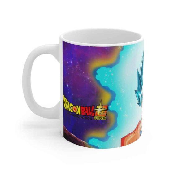 Dragon Ball Super Goku Blue vs Goku Black Dope Ceramic Mug