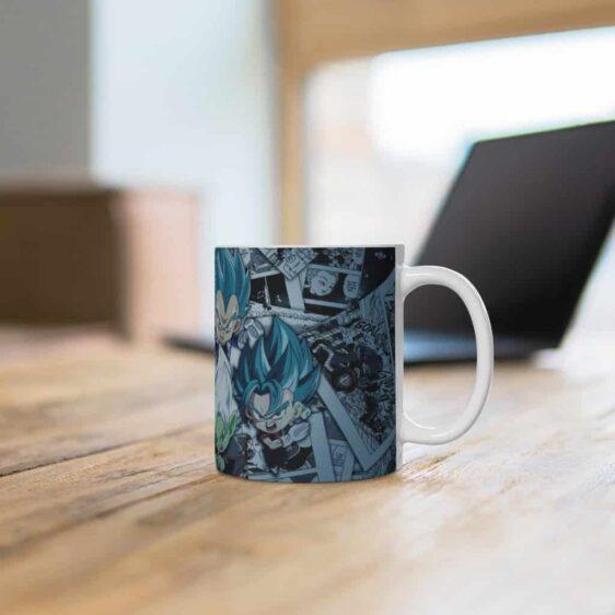 DBZ Chibi Goku Vegeta Zamasu Trunks Vegito Cool Coffee Mug