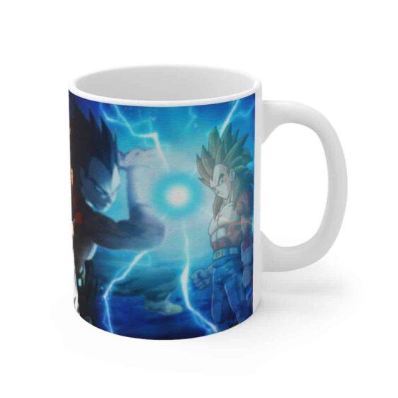 Dragon Ball GT SSJ4 Gogeta Goku Vegeta Dope Ceramic Coffee Mug