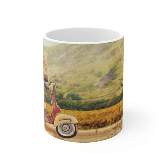 Dragon Ball Goku & Gohan Joy Ride Painting Awesome Coffee Mug