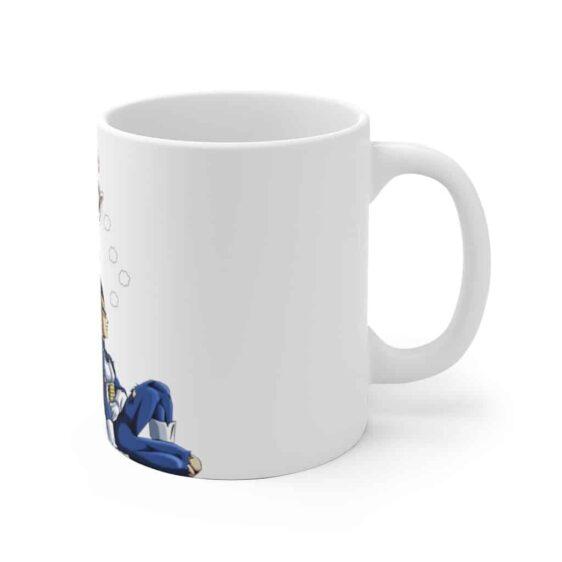 Dragon Ball Adorable Vegeta & Bulma Graphic Coffee Mug