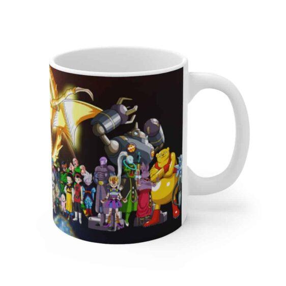 Dragon Ball Super Major Characters Poster Awesome Coffee Mug