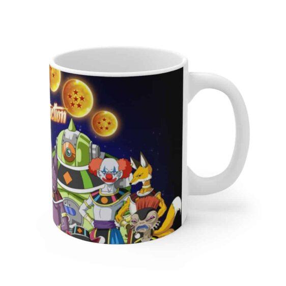 Dragon Ball Super Gods of Destruction Poster Cool Coffee Mug