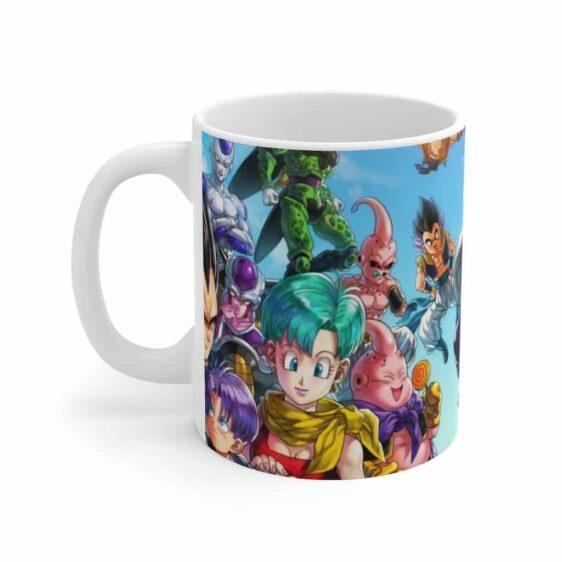 Dragon Ball Z Family Main Characters Cool Ceramic Coffee Mug