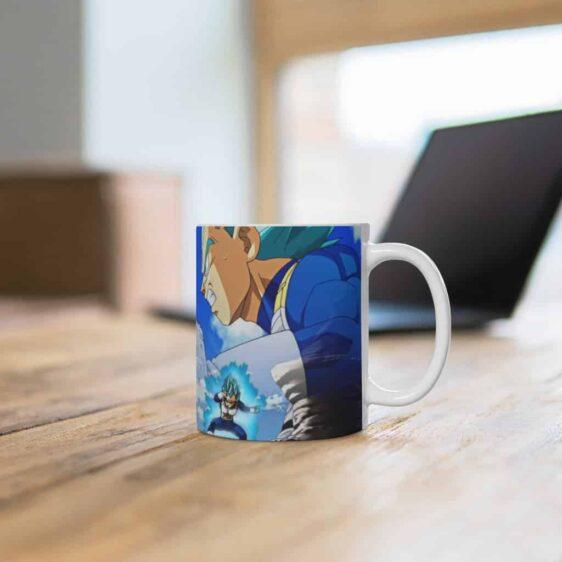 DBZ Super Saiyan Blue Goku & Vegeta Battle Awesome Coffee Mug