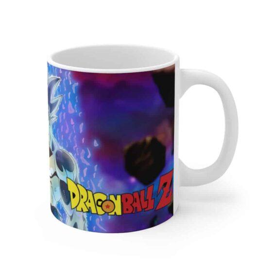 DBZ Goku Ultra Instinct Form Dope White Ceramic Coffee Mug