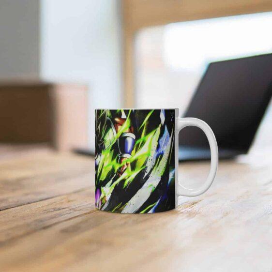 Dragon Ball Super Movie Enraged Broly Dope Ceramic Coffee Mug