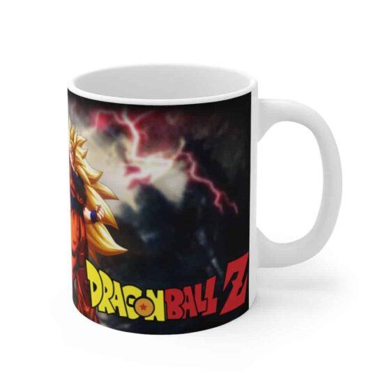 Dragon Ball Z Son Goku SSJ3 & Shenron Ceramic Coffee Mug