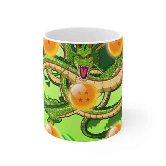 DBZ Shenron The Dragon & Seven Dragon Balls Coffee Mug