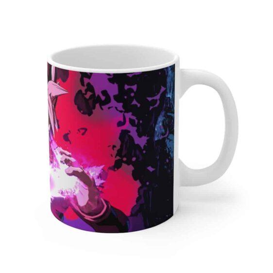 Dragon Ball Super Saiyan Black Goku Rose Blade Charge Coffee Mug
