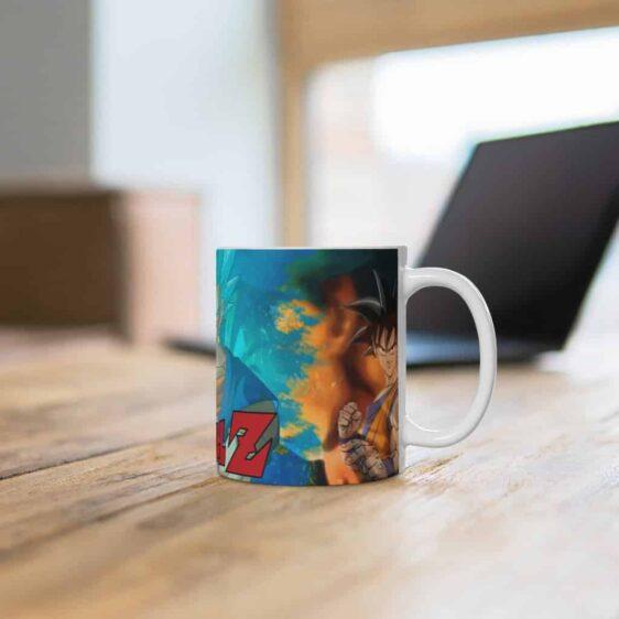Dragon Ball Z Goku Vegeta Vegito Blue Fusion Dope Coffee Mug