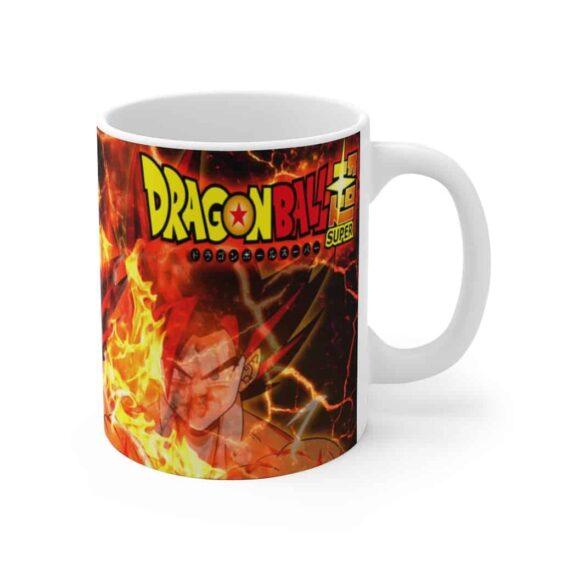 Dragon Ball Super Goku Super Saiyan Red God Form Coffee Mug