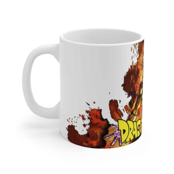 Dragon Ball Z Golden Frieza Explosion Cool Ceramic Coffee Mug