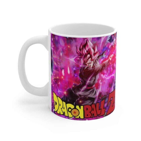 Dragon Ball Legends Goku Black Saiyan Rose Scream Coffee Mug