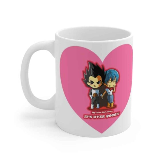 Dragon Ball Vegeta Bulma Valentine Cute Graphic Coffee Mug