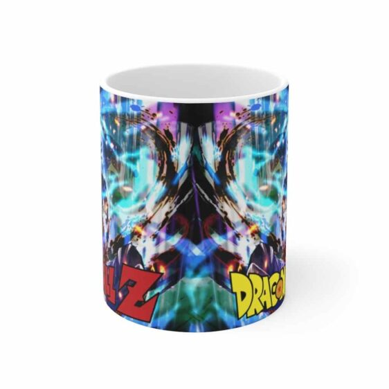 Dragon Ball Z Goku Ultra Instinct Back View Awesome Coffee Mug