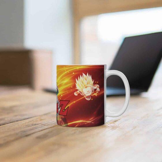 DBZ SSJ3 Gotenks Trunks & Goten Fusion Awesome Coffee Mug