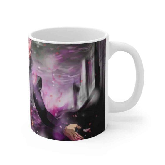 Dragon Ball Goku Black Saiyan Rose Poster Ceramic Coffee Mug