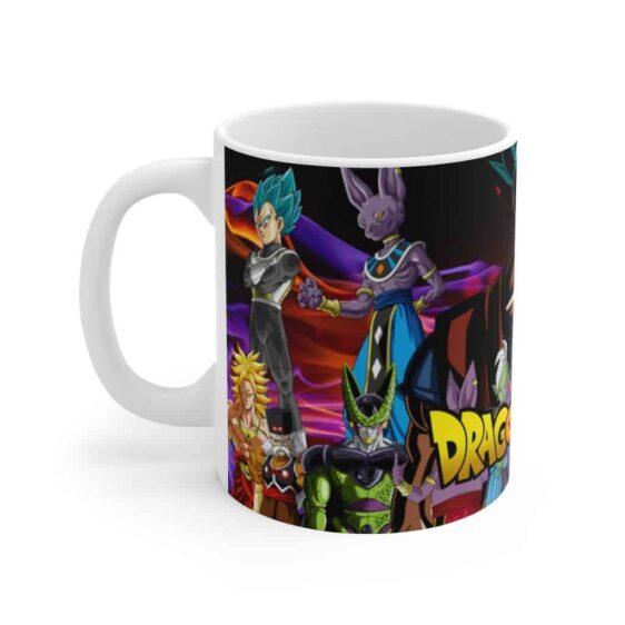Dragon Ball Super Tournament of Power Characters Ceramic Mug
