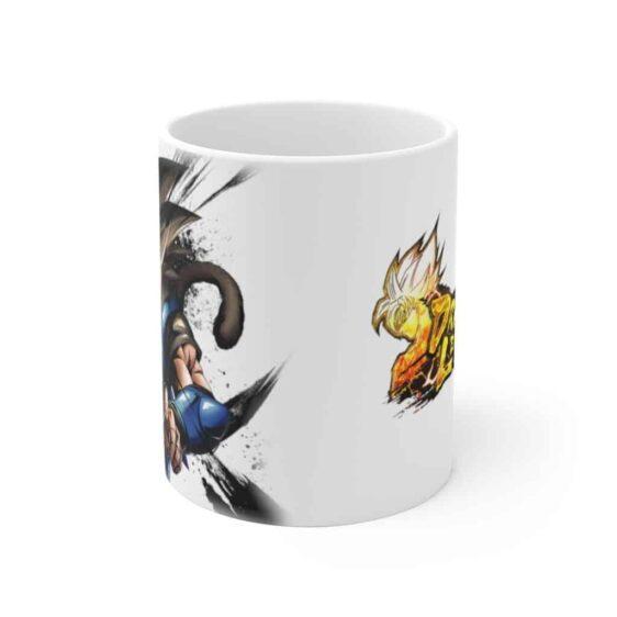 Dragon Ball Legends Shallot Amnesiac Saiyan White Ceramic Mug