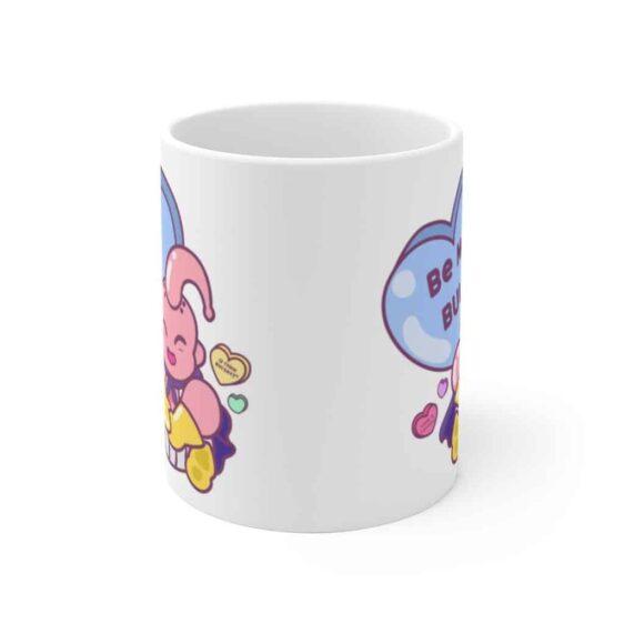 Dragon Ball Z Be My Buu Cute Majin Buu White Ceramic Mug