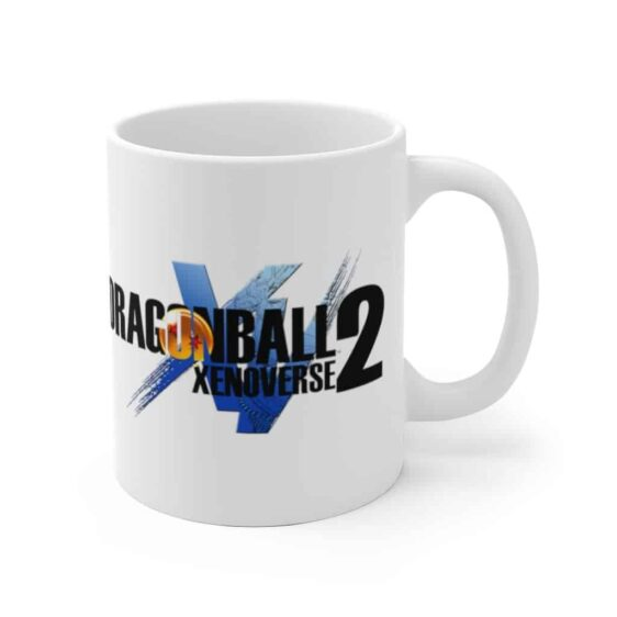 Dragon Ball Xenoverse 2 Angry Gogeta Black White Ceramic Mug