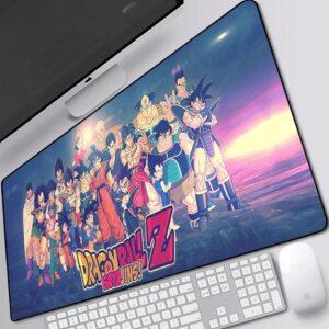 All Dragon Ball Z Saiyans Super Saiyan Clan Mouse Pad
