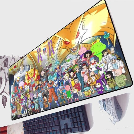 DBS All Characters With The Villains Dope Non-Slip Mouse Pad