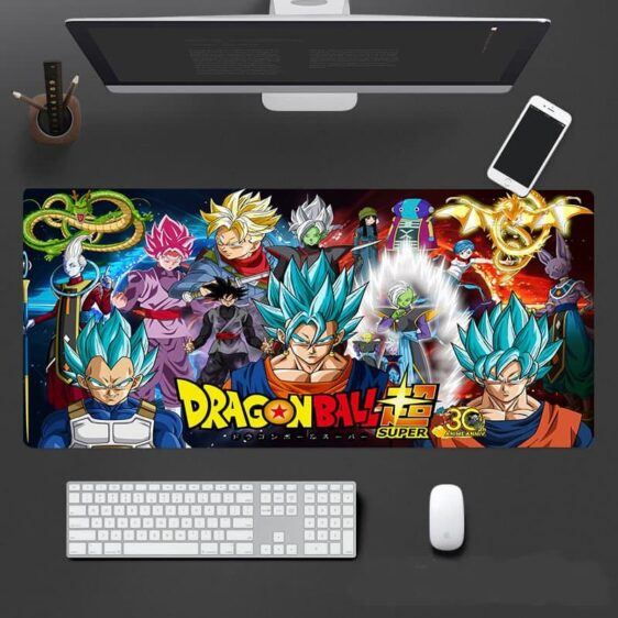 DBS Goku And Vegeta Potara Fusion Vegito Form Mouse Pad
