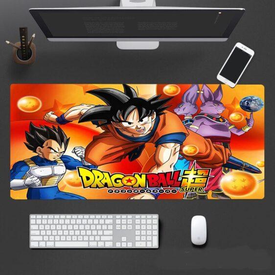 DBS Goku Vegeta Champa And Beerus Dragon Balls Dope Mouse Pad