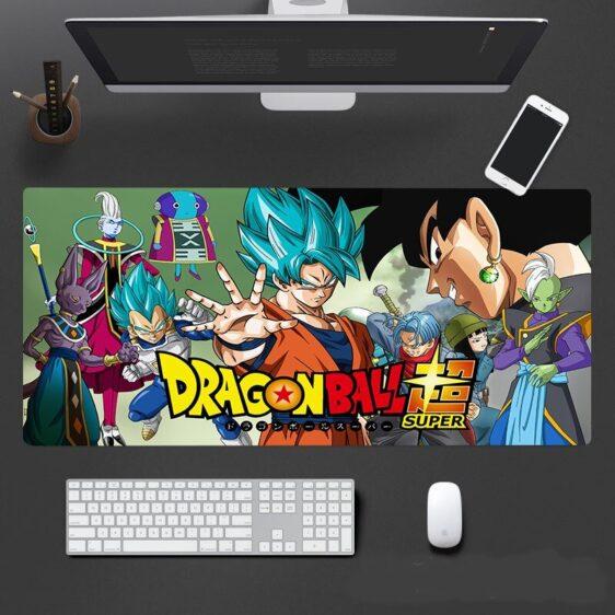 DBS Saiyan Team Son Goku Super Saiyan Blue Form Mouse Pad