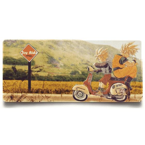 DBZ Goku And Gohan Motorbike Joy Ride Non-Slip Mouse Pad