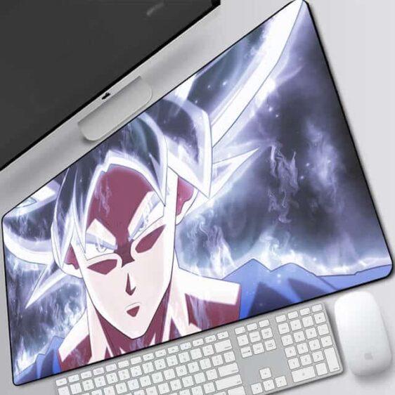 DBZ Goku Livid Ultra Instinct Form Extended Mouse Pad