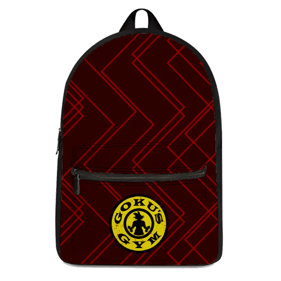 DBZ Goku's Gym Athletic Red Workout Awesome Backpack