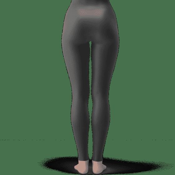DBZ Golden Frieza Strong Pose Dark Minimalist Leggings