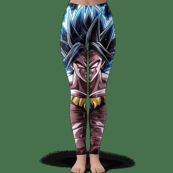 DBZ Legendary Super Saiyan Broly With Black Hair Leggings