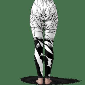 DBZ Majin Vegeta Comic Art Black White Cool Yoga Pants