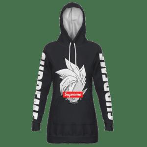 DBZ Shin Supreme Kai Logo Creative Black Edition Hoodie Dress
