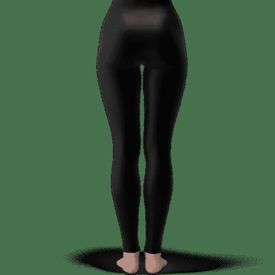 DBZ Super Major Characters Opening Poster Black Yoga Pants