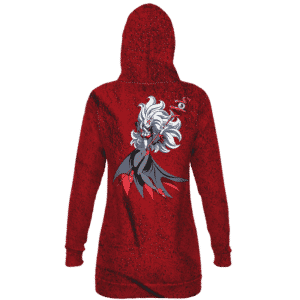 DBZ Towa Goddess Demon Form Awesome Red Hoodie Dress