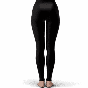 DBZ Vegeta Wearing Gucci Middle Finger Dope Black Leggings